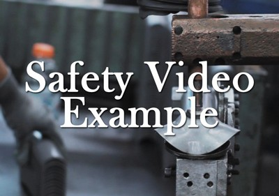 Safety Video Example