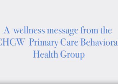 CHCW Behavioral Health Message